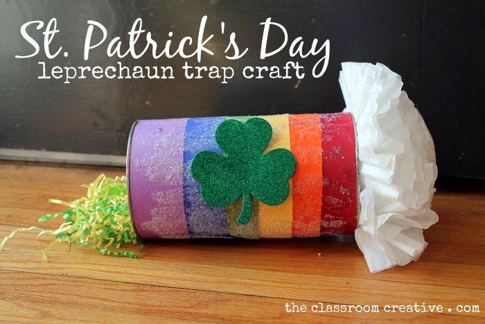#Leprechaun trap for #kids #St Patrick's Day