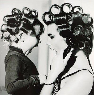 Like mother like daughter.. awww i want to do this :): Rollers, Little Girls, Photos Ideas, Mothersday, Mothers Day, Mothers Daughters, Pictures, Hair, Photography