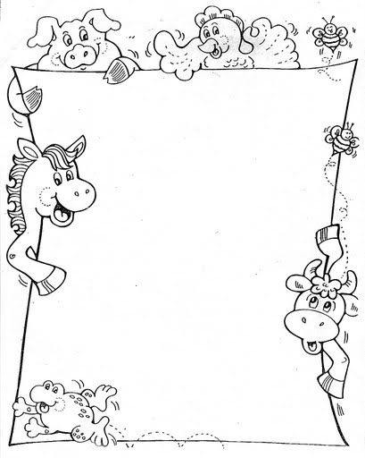 pinterest diy picture frame ideas - Atividades Infantil Espaço Saber Bordas Pedagógicas