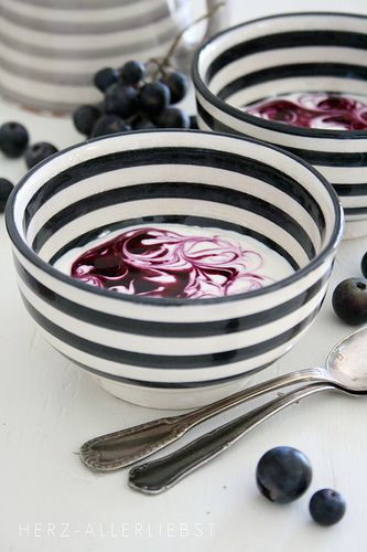 Striped bowls....I want