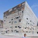 #architettura Wang Shu, Amateur Architecture Studio - Ningbo Historic Museum - la composizione