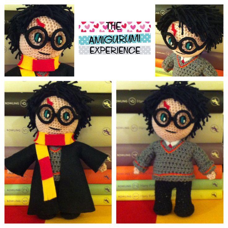 Amigurumi Harry Potter : Over 1000 ideer om H?klede Dukker p? Pinterest Amigurumi ...