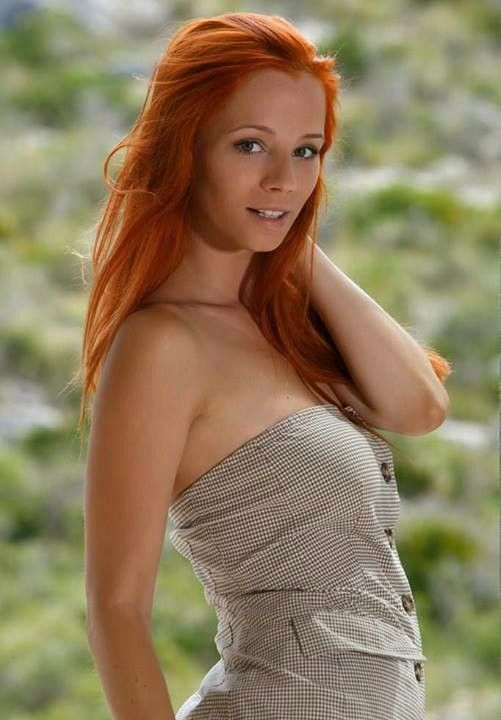 Hair red hairy women nude
