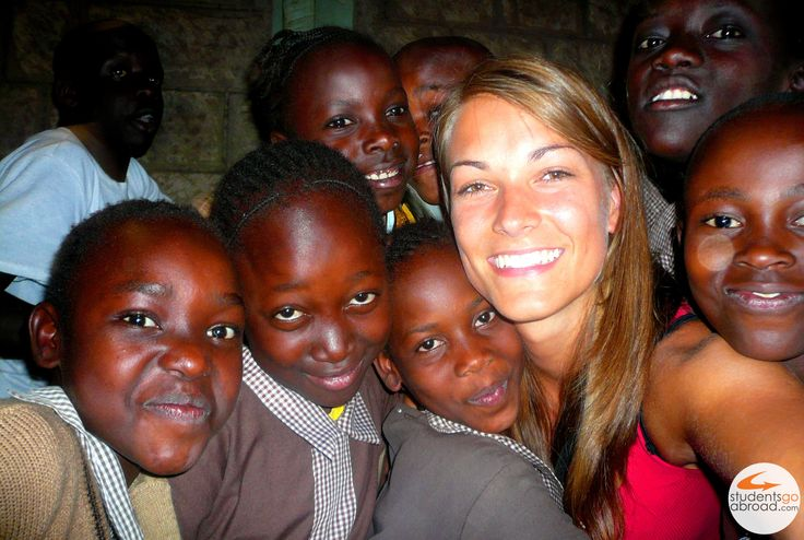 Anna, volunteer in #Kenya #volunteerabroad #studentsgoabroad