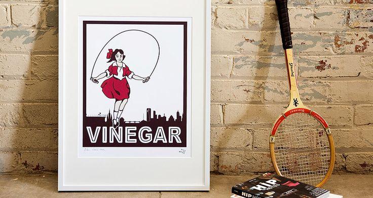 Skipping Girl Vinegar by Make me Iconic