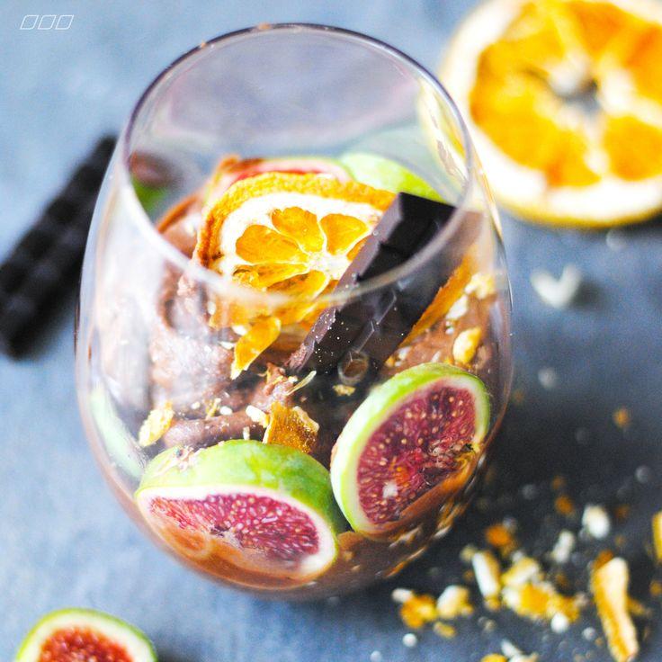 Fig & Wild Orange Chocolate Mousse [Pana Chocolate]