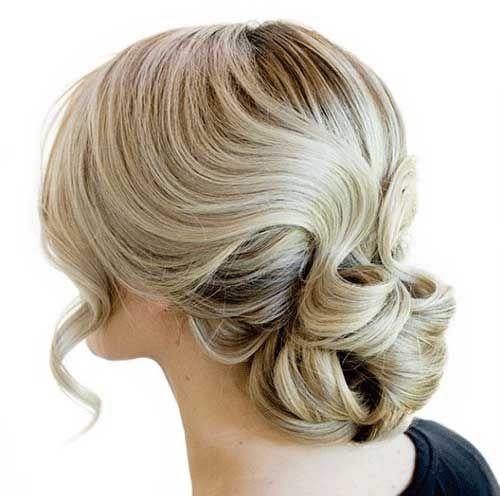 25+ Sarı Saç Topuz Modelleri | Saç Modelleri 2014 - 2015