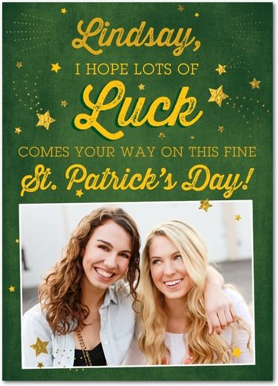 Lots of Luck - St Patricks Day Cards in Spruce Green | Magnolia Press: Card