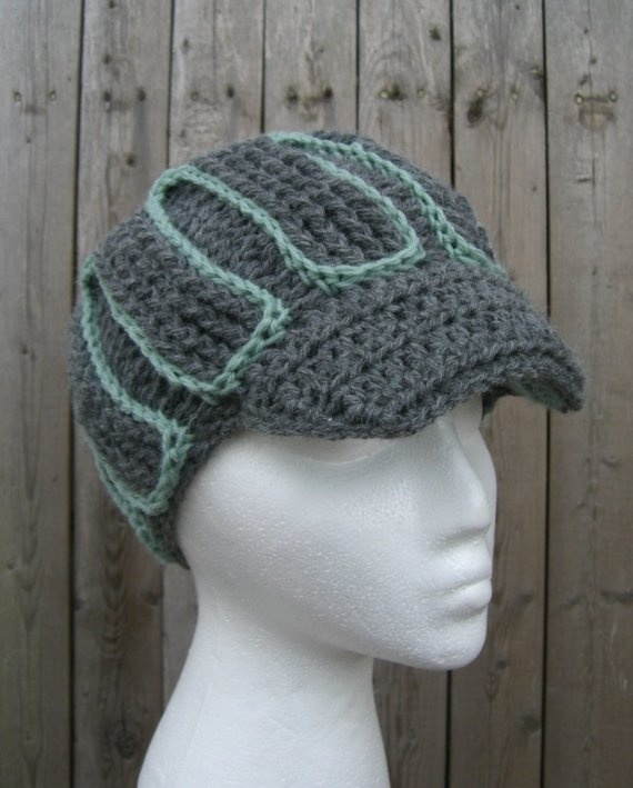 Grey Pimpin Mint Womens Crochet Hat