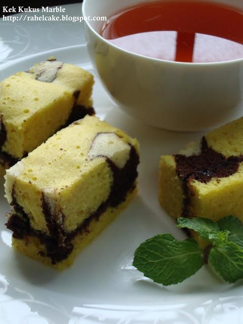 I Love Cake: Kek Kukus Marble