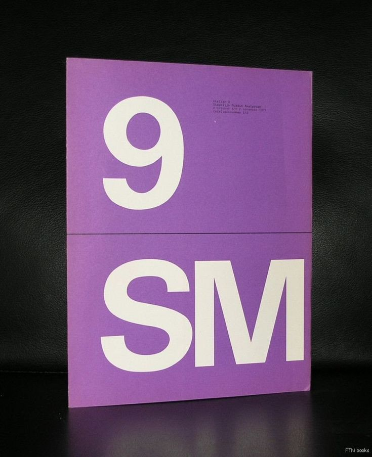 Artist/ Author: Plaat, Klein, Bierman ao Title : Atelier 9 Publisher: Stedelijk Museum, 1971 Number of pages: 104 pages plus cover Text / Language: dutch Measurements: 10.8 x 8.2 inches Condition: nea