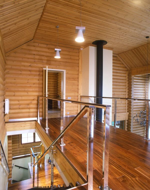 Best 25 modern log cabins ideas on pinterest log cabin for Contemporary log homes
