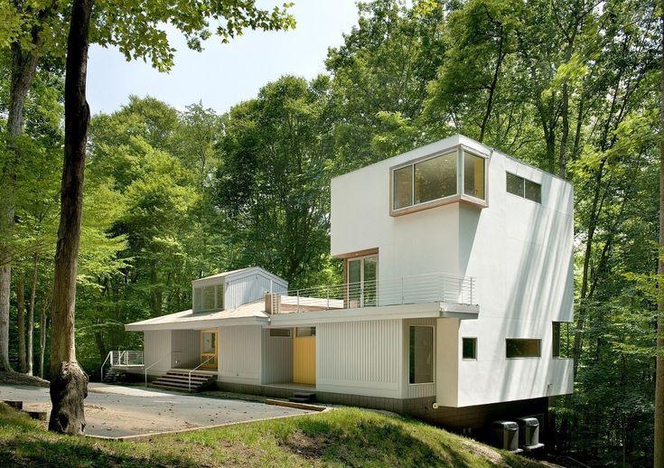 숲속에 조용한 변화를 선사한 주택 - Daum 부동산 커뮤니티