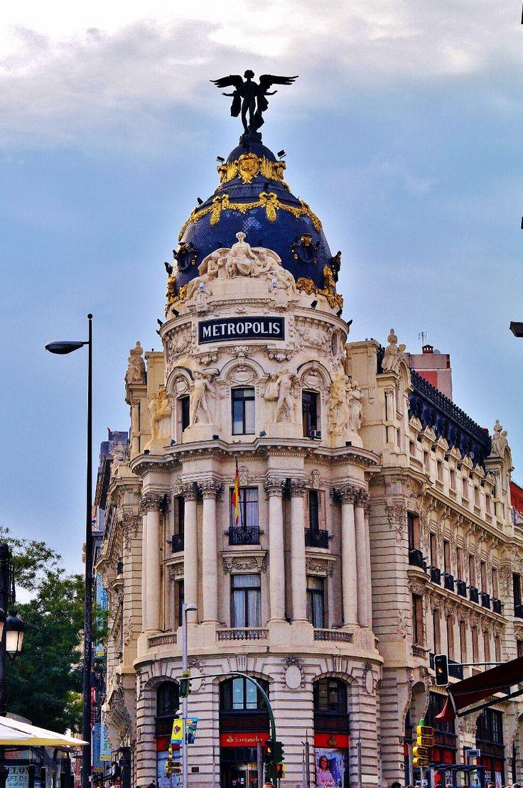 Edificio Metrópolis. Calle Alcalá.