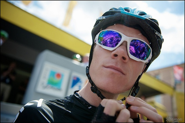 Chris Froome ready to go by kristof ramon, via Flickr