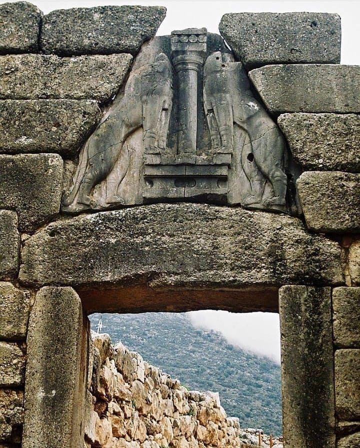 yunanistan aslan kapısı ile ilgili görsel sonucu