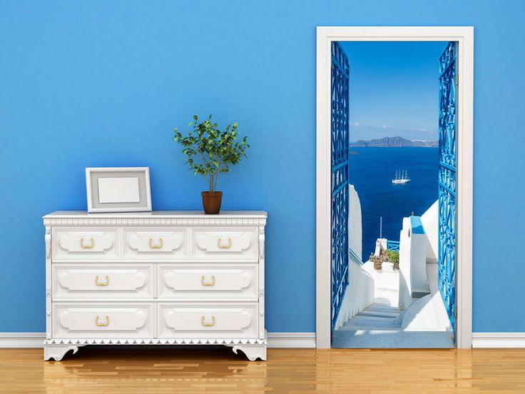 Tapeta na drzwi 100x210 morze c-B-0107-a-a - artgeist - Dekoracje #art #tapeta #design