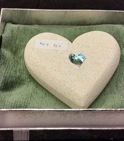 Neville Ware Oamaru Stone Heart