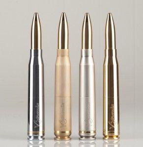 V3tronix line of 50 Caliber Bullet Vape Mod www.v3tronix.com