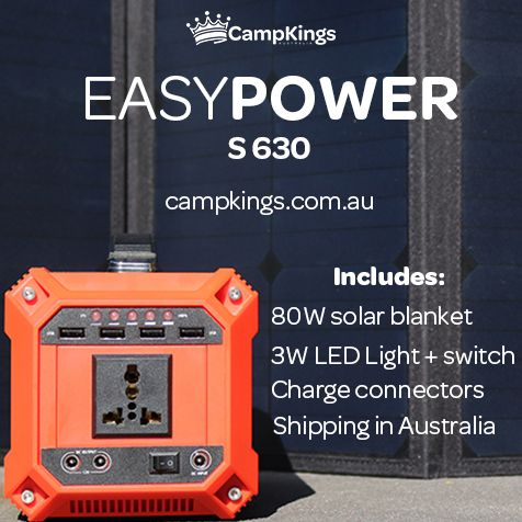 EasyPower S630 | Solar camping power made easy