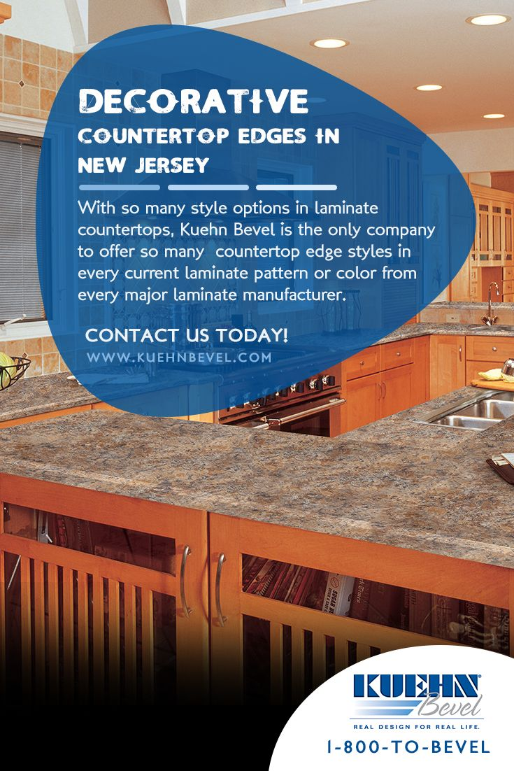 With So Many Style Options In Laminate Countertops, Kuehn Bevel Is The Only  Company To