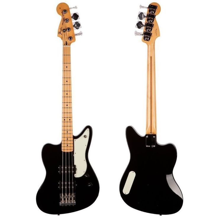 The STRATosphere - Used 2013 Fender Pawn Shop Reverse Jaguar BASS GUITAR Black MINT!, $379.99 (http://www.stratosphereparts.com/used-2013-fender-pawn-shop-reverse-jaguar-bass-guitar-black-mint/)