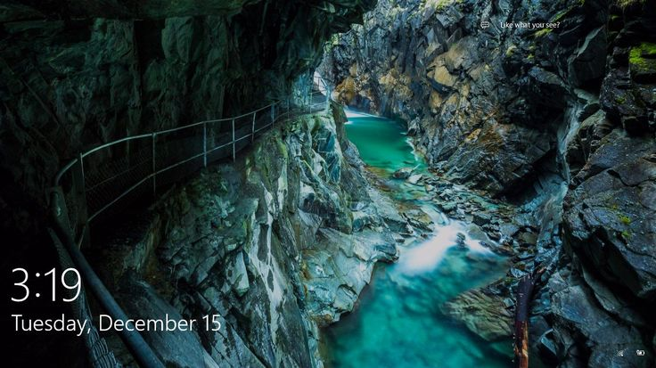 Gorge Walk Unknown Location From Windows 10 Spotlight
