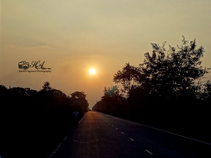 Sunset on Grand Trunk Road