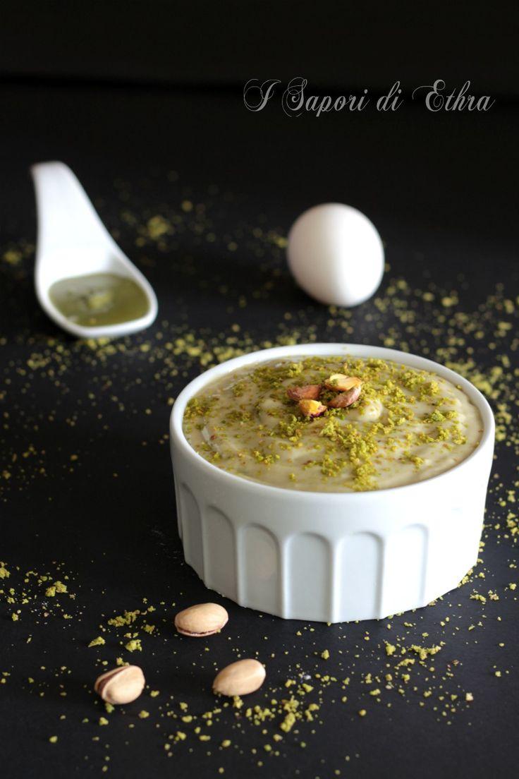 Crema con pasta di pistacchio pura
