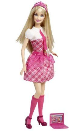 Barbie Princess Charm School: School Girl Princess Blair Doll by Mattel. $19.99. Inspired the new animated Barbie movie, Barbie Princess Charm School. Princess Blair and her friends each have their own unique princess personality. Girls will love playing out scenes from the movie. Princess Blair (Barbie doll) is dressed in a pink outfit and comes with a laptop. Featuring Barbie as Princess Blair who is the main character in the movie. From the Manufacturer           ...
