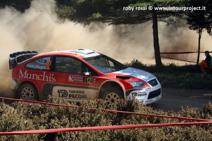 Villagra - WRC Rally Costa Smeralda 2007 - foto di Roby Rossi http://www.intourproject.it/it/in_photo/il_significato_delle_immmagini_nella_comunicazione_cat_11.htm