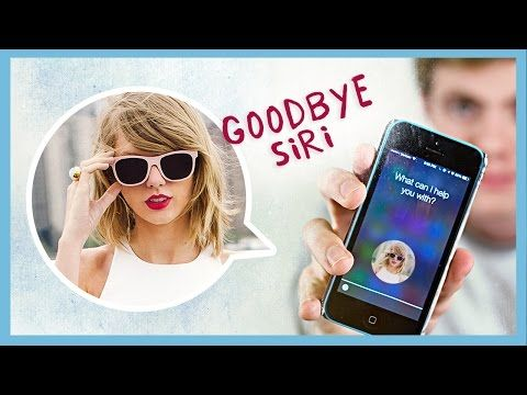 REPLACING SIRI WITH TAYLOR SWIFT - YouTube ---------------------------------- Haha!I love the last one!XD