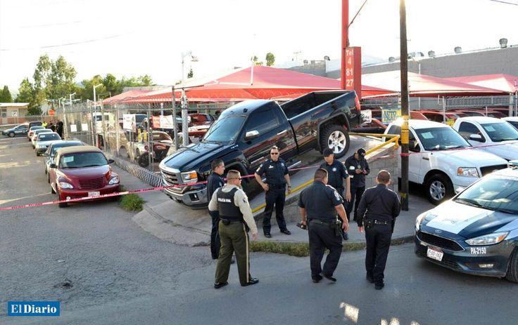 Lo ejecutan a frente a su hija en lote de autos - El Diario de Juárez