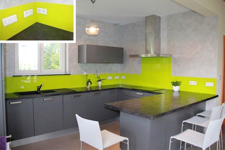 1000 images about keukens on pinterest lighting design design and herbs garden - Credence keuken wit ...