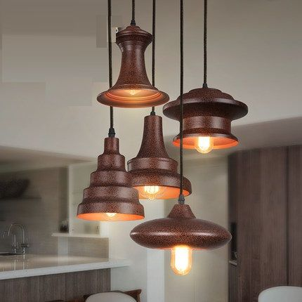 industrial lighting design. american loft style iron edison pendant light fixtures for dining room hanging lamp vintage industrial lighting design