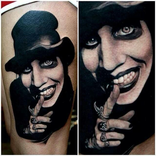 Now that is a portrait tattoo, very nicely done!