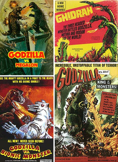 Monsters Attack! 26 Epic Retro Horror Movie Posters | WebUrbanist