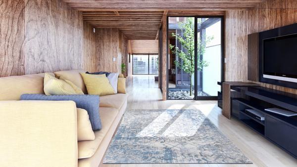 Louis De Poortere Fading World Babylon 8545 Alhambra Area Rug Modern Rugs Gold Rug Rug Design