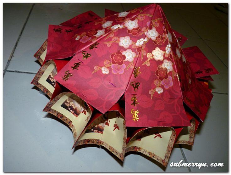 DIY Chinese New Year decor: Ang Pow Carousel Lantern (Có ...