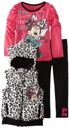 Disney Girls 2-6X Toddler Minnie Mouse 3 Piece Printed Vest Pullover and Pant, Pink, 3T Disney,http://www.amazon.com/dp/B00D4IZFVY/ref=cm_sw_r_pi_dp_NuLwtb0Q6DJA7H4E