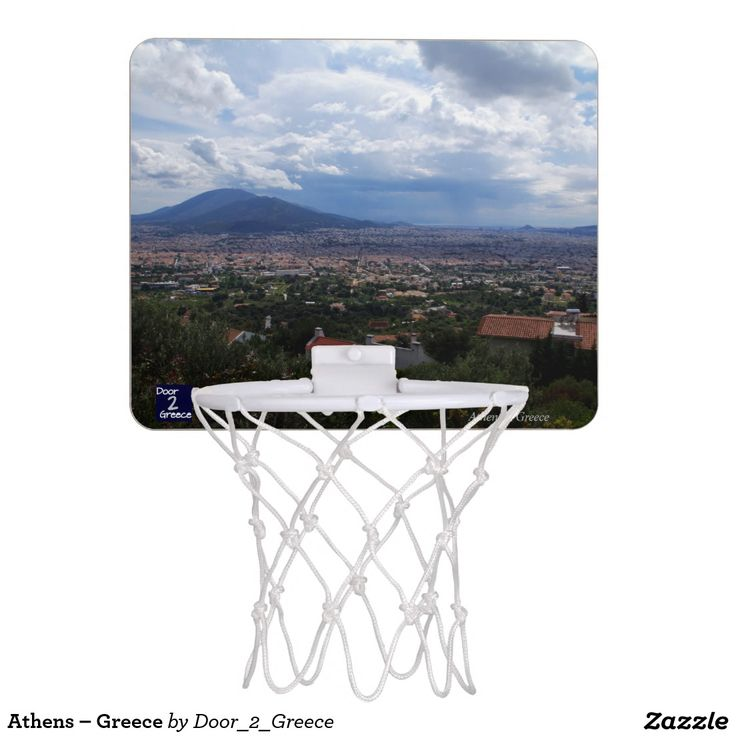 Athens – Greece Mini Basketball Backboards