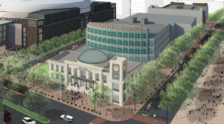 Wayne State University made it official late last week. Detroit Red Wings and Little Caesars owner Mike Ilitch will give the school $40 million to build the Mike Ilitch School of business. Plans for the new building, to be constructed near the new entertainment district and the Red Wings' new arena, include classrooms, lab space and faculty offices.