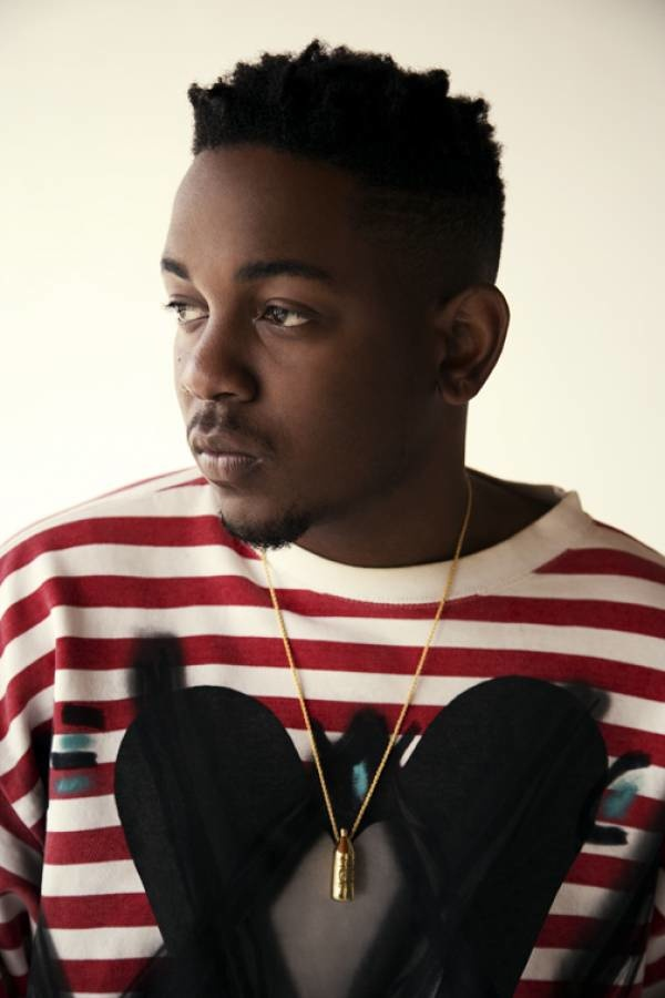 Kendrick Lamar in Bohemian Society custom VW Mickey sweater