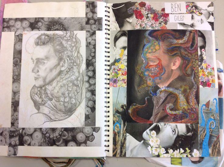 Final piece ideas octopus guy