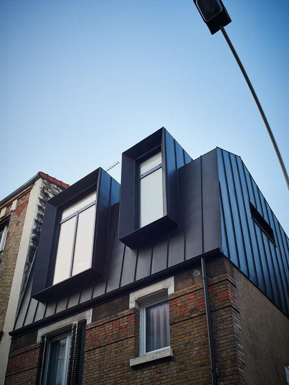 Best 20 zinc roof ideas on pinterest modern barn for Architecture zinc