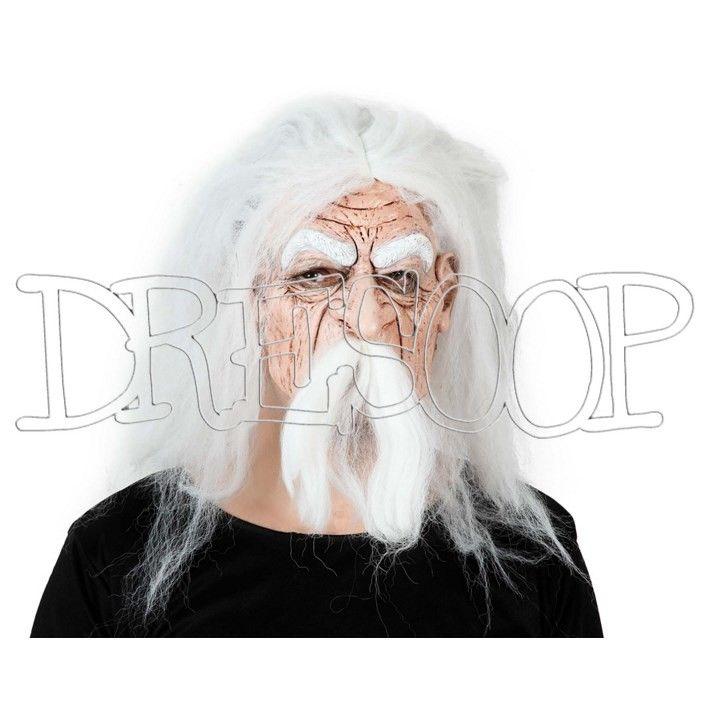 Máscara Anciano Pelo blanco - Dresoop.es
