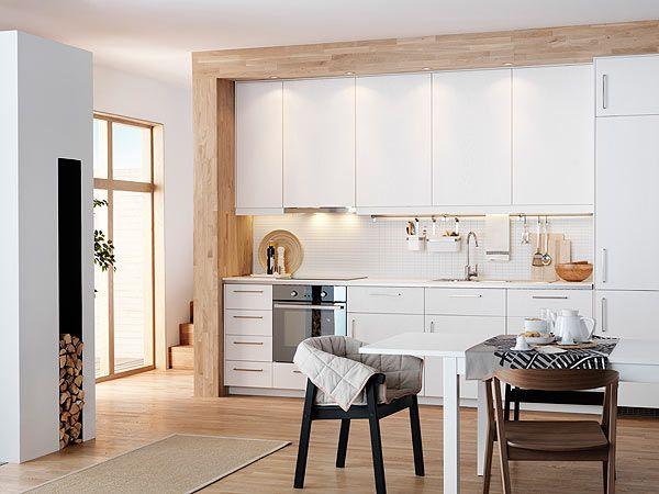 Moderne landhausküche ikea  Die 25+ besten Ideen zu Ikea küche metod auf Pinterest | Ikea ...