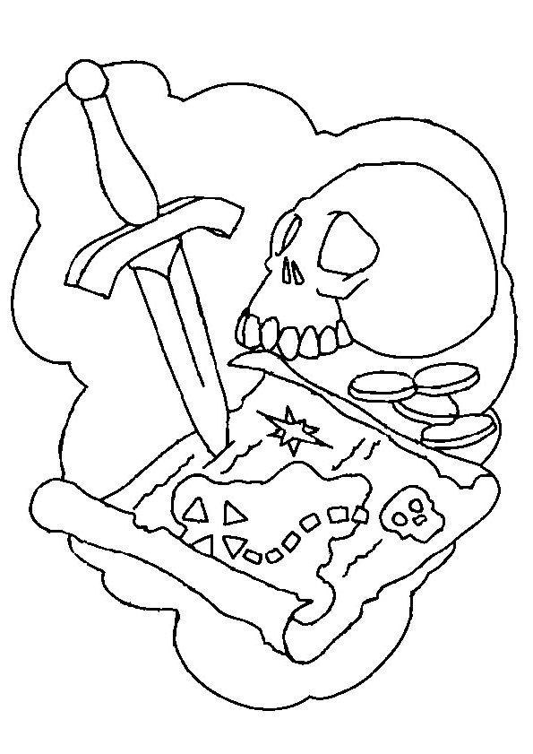 17 meilleures images propos de coloriages de pirates sur - Dessin d une ile ...