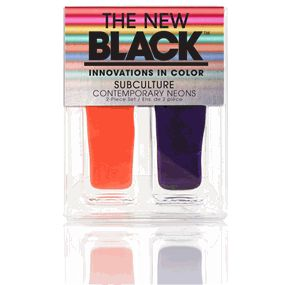 NEW Subculture Neon 2 Piece Nail Polish Set in Electric Daisy
