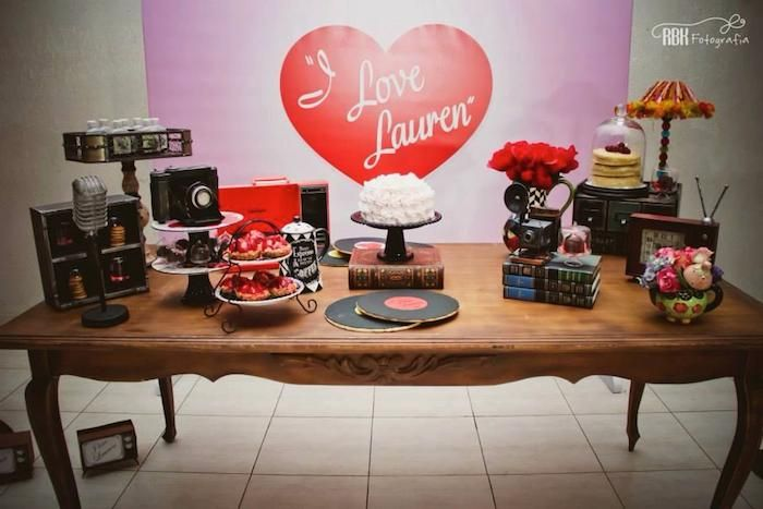 i love lucy party decor - Google Search